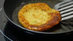frying potato pancake
