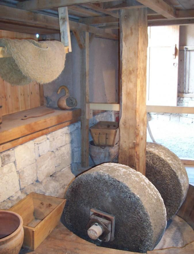 Old olive oil press