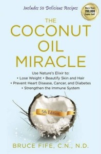 Image of The Coconut Oil Miracle Book Cover