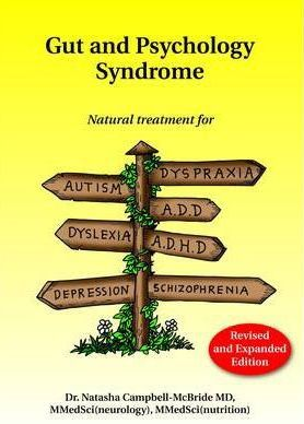 Book Cover: Gut and Psychology Syndrome