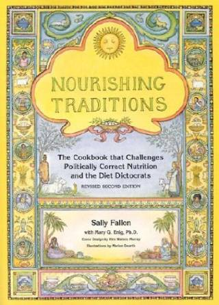 Picture of Nourishing Traditions Cookbook Cover