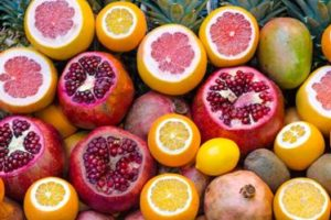 Picture of citrus fruits