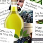 Headlines about olive oil fraud